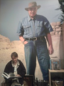 Zahi Hawass - poster at DeYoung Tut exhibit gift shop